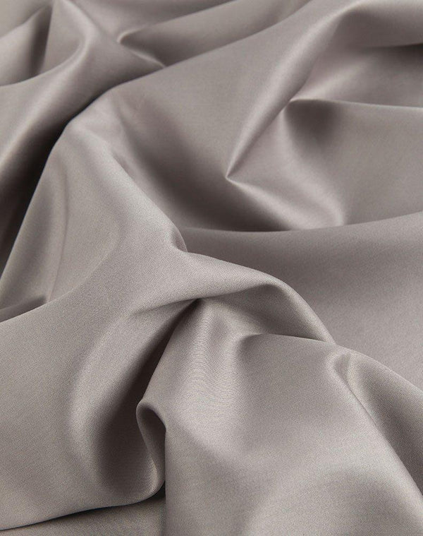 Egyptian Cotton Sateen Duvet Covers - Grey Egyptian Cotton Sateen Duvet Covers / Pillows