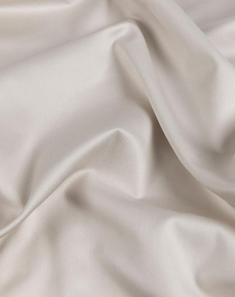 Light Grey Egyptian Cotton Sateen Fitted Sheet - ZigZagZurich