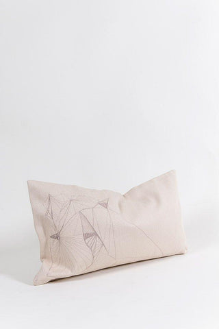 Hand Embroidered One of A Kind Pillows & Cushions - Satin Cotton