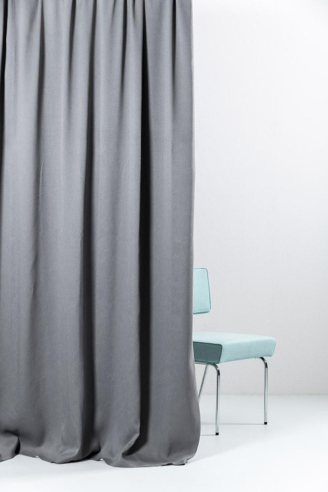 "Extra Wide Blackout Curtains - Anthrazit Extra Wide Blackout Curtains 300cm/118"" - Matt Satin Weave (07)"