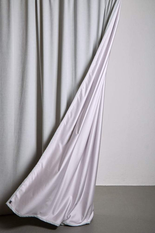 "Extra Wide Velvet Curtains - Extra Wide Matt Velvet Dim-out Curtains 300cm/118"" -  Perla Light Grey 189"