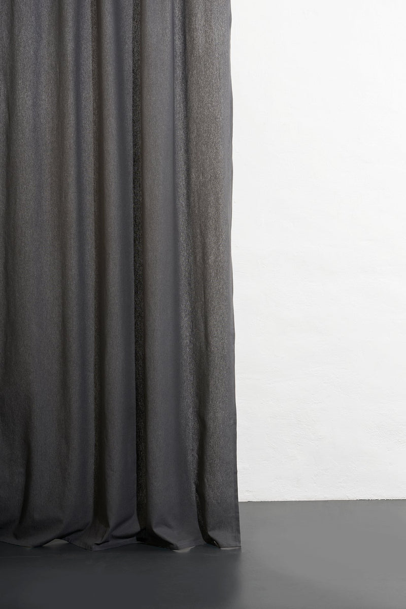 Hemp Curtains - Cannab Hemp And Organic Cotton Curtains - Anthracite 11