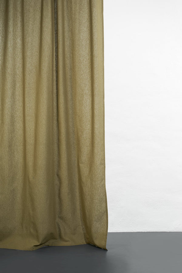 Hanfvorhaenge Hemp Curtains - Cannab Hemp And Organic Cotton Curtains - Khaki 04