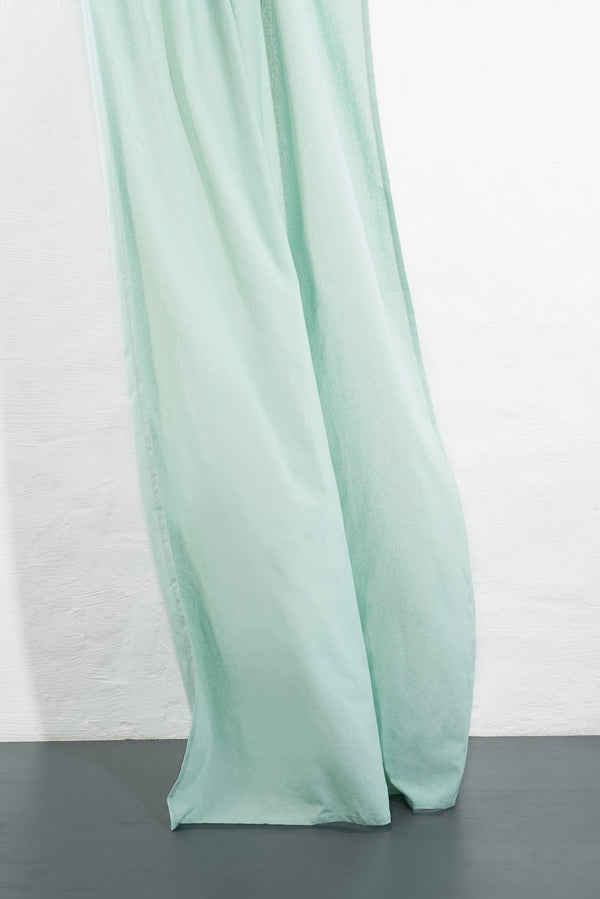 Hanfvorhaenge Hemp Curtains - Cannab Hemp And Organic Cotton Curtains - Turquoise 06