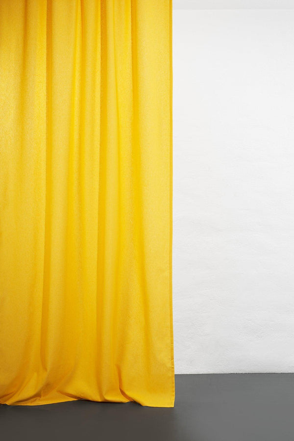 Hemp Curtains - Cannab Hemp And Organic Cotton Curtains - Yellow 05