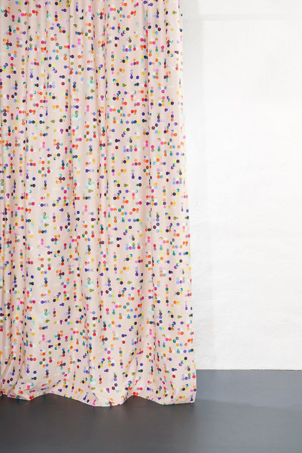 Kids Blackout Curtains - Dotty Kids Blackout Curtain By Sophie Probst - Extra Wide