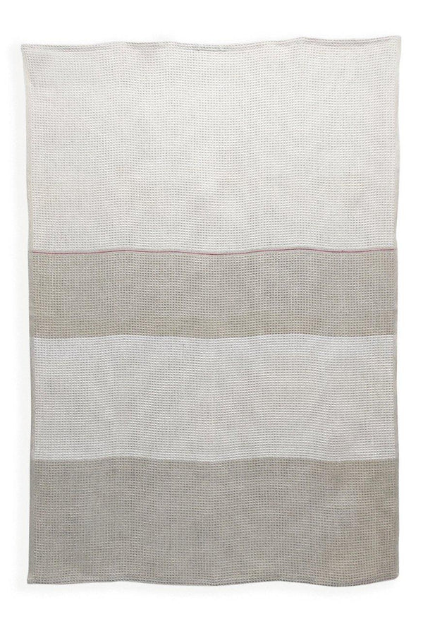 Linen Bath Towels - Yarn Dyed 100% Linen Bath Towels Col. Nature