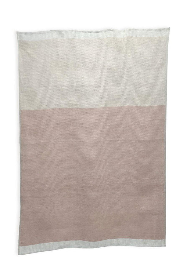 Linen Bath Towels - Yarn Dyed 100% Linen Bath Towels Col. Rose