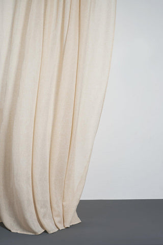 Beige Linen Curtains 300cm /118