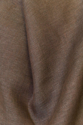 "Chestnut Brown Linen Curtains 300cm /118"" Extra Wide"