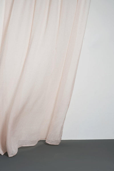 Linen Curtains - Pink Linen Curtains 300cm /118 Inches Extra Wide