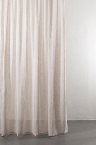 "Sand Linen Curtains 300cm / 118"" Extra Wide"