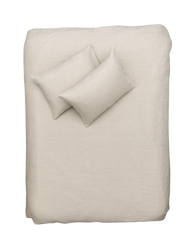 Natural Linen Bedding - Sand Panama Linen Duvet Covers / Pillows