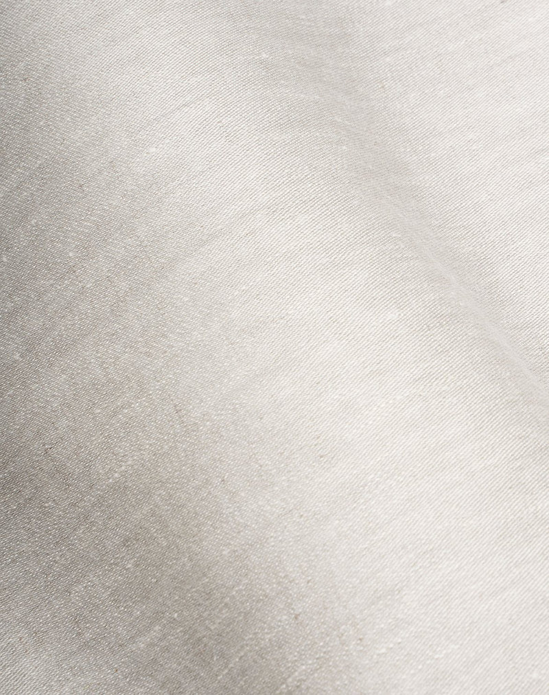 Natural Linen Bedding - Two Tone Stonewashed Linen Bedding Col. Grey