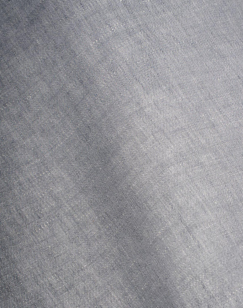 Natural Linen Bedding - Two Tone Stonewashed Linen Bedding Col. Quartz Grey