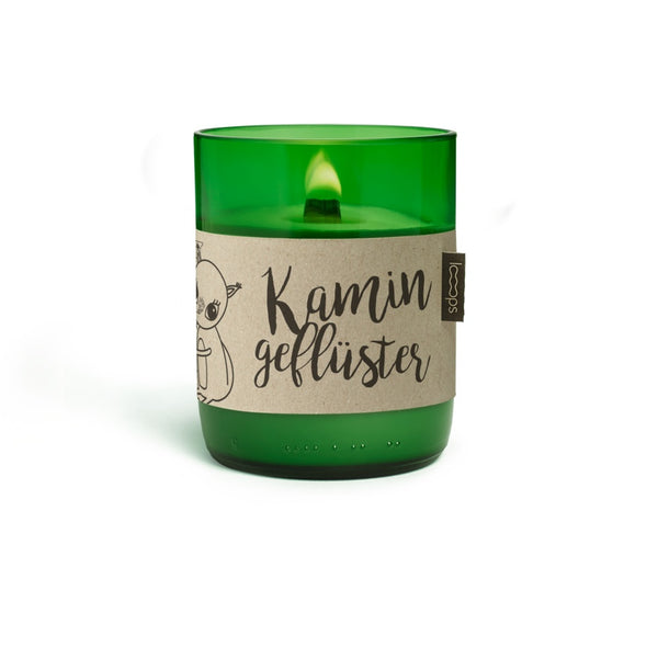 Natural Scented Candles - Looops Natural Scented Candles - Chimney Whisper - Rosemary, Lavender, Clove, Bergamot, Mace