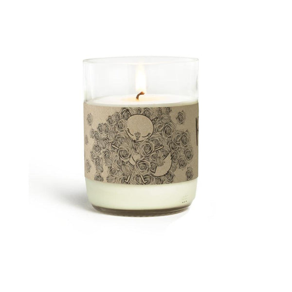 Natural Scented Candles - Looops Natural Scented Candles - See Of Roses - Rose Geranium, Palmarosa, Patchouli, Clove