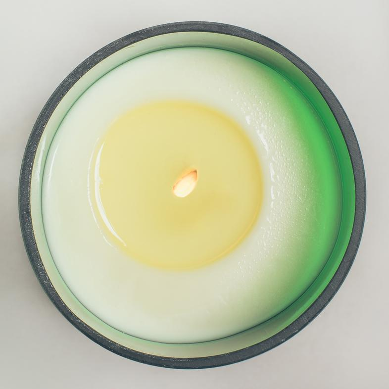 Natural Scented Candles - Looops Natural Scented Candles - Sunshine Hours - Lemon, Blood Orange, Grapefruit And Bergamot