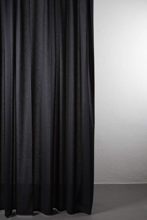 "Outdoor Curtains - Shade Outdoor Curtain - Extra Wide 300cm /118"" Black 13"