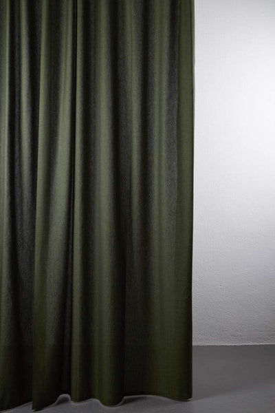 "Outdoor Curtains - Shade Outdoor Curtain - Extra Wide 300cm /118"" Green 09"