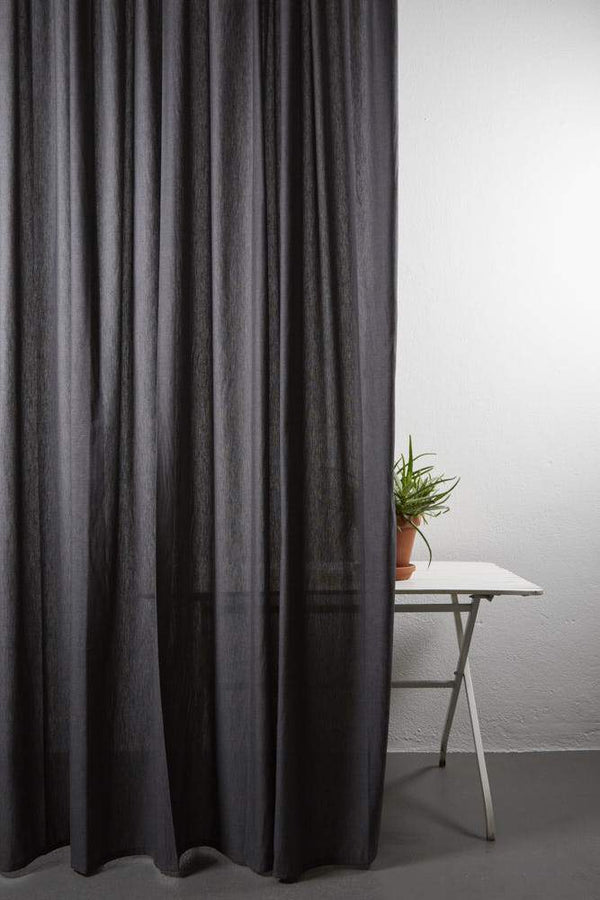 "Outdoor Curtains - Shade Outdoor Curtain - Extra Wide 300cm /118"" Grey 11"