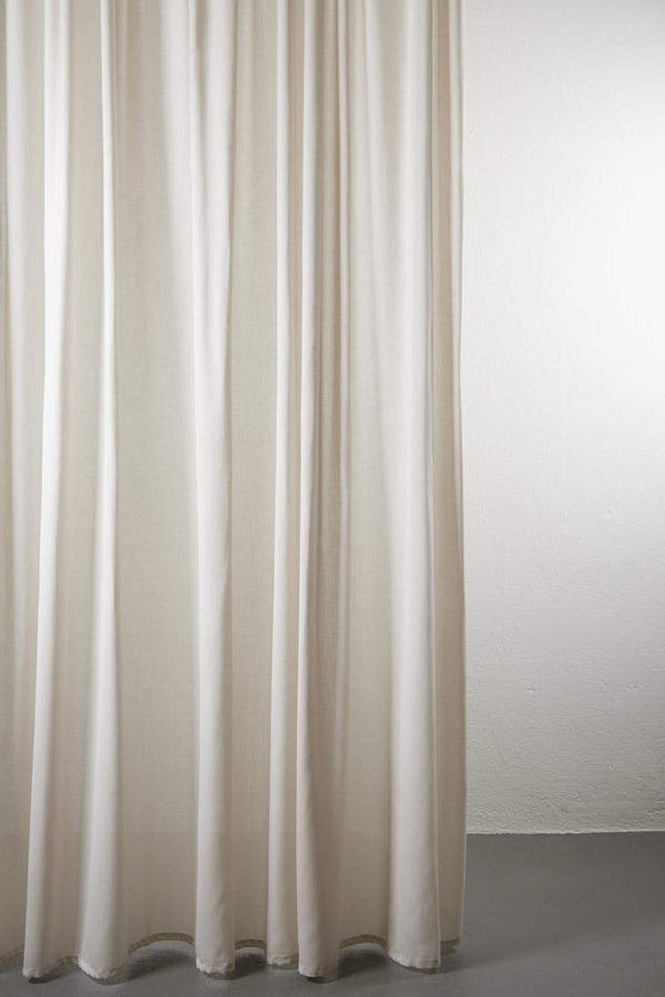 "Outdoor Curtains - Shade Outdoor Curtain - Extra Wide 300cm /118"" Sand 03"