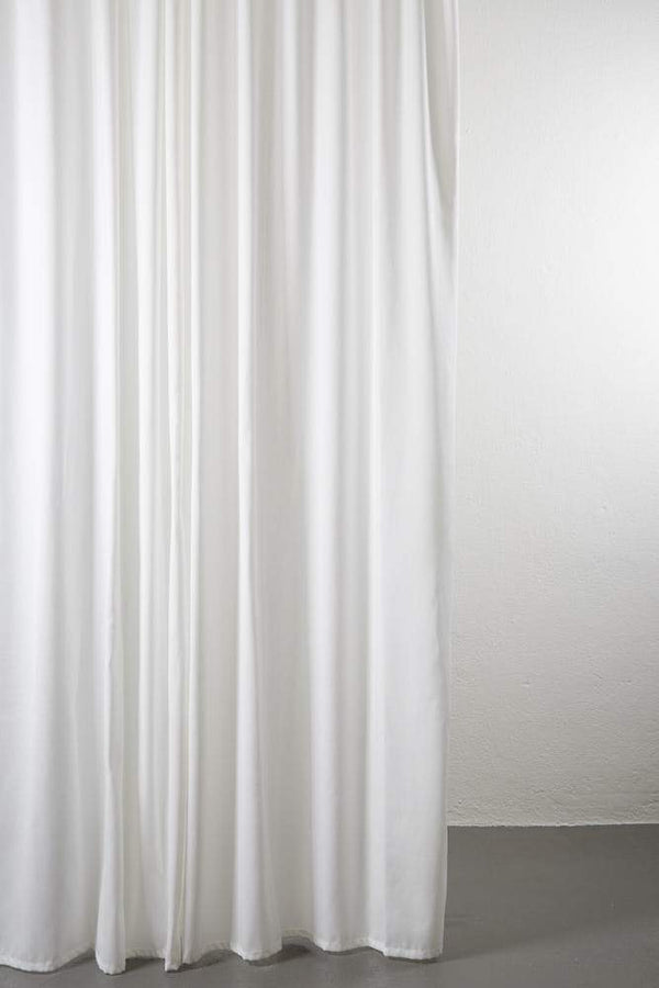 "Outdoor Curtains - Shade Outdoor Curtain - Extra Wide 300cm /118"" White 01"