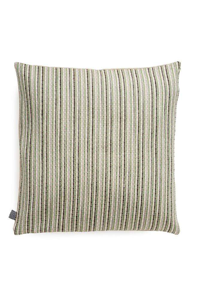 Raffia Cushions & Pillows - Ipanema Raffia Pillows And Cushions - Col. Black / Green