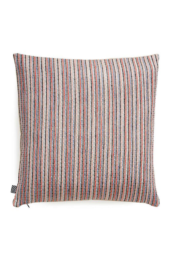 Raffia Cushions & Pillows - Ipanema Raffia Pillows And Cushions - Col. Red / Blue