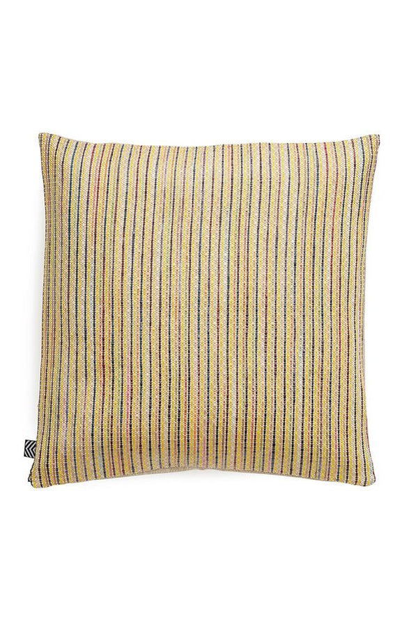 Raffia Cushions & Pillows - Ipanema Raffia Pillows And Cushions - Col. Yellow / Pink