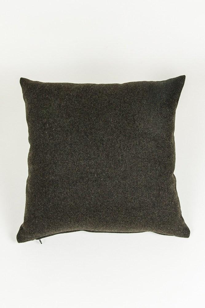 Recycled Wool Pillows & Cushions - Clyde Recycled Wool Pillows And Floor Cushions