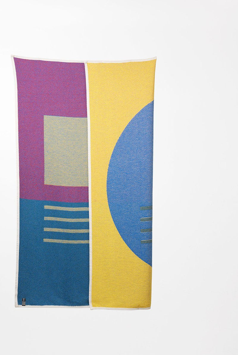 Summer Cotton Throws & Towels - Bauhaused 7 Cotton Blankets & Throws By Sophie Probst