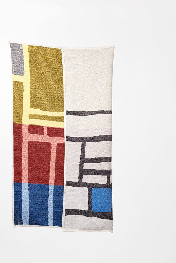 Summer Cotton Throws & Towels - Bojagi 1 Cotton Blankets & Throws By Michele Rondelli