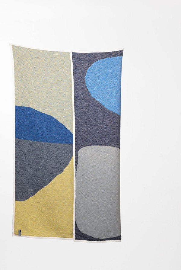 Summer Cotton Throws & Towels - Farley 1 Blankets & Throws By Alison Mc Kenna