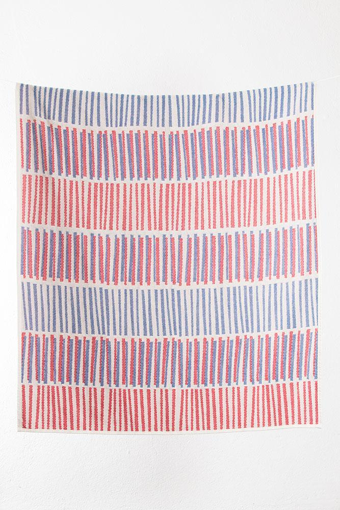 Summer Cotton Throws & Towels - Jango Cotton Blankets & Throws By Sunny Todd Prints