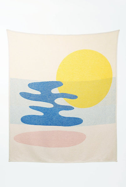 Summer Cotton Throws & Towels - Mainstream Blankets & Throws By Catherine Lavoie