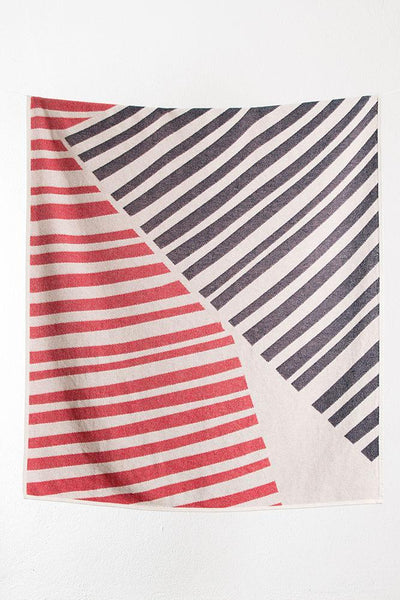 Summer Cotton Throws & Towels - Quite The Angle Cotton Blankets / Throws By Sunny Todd Prints