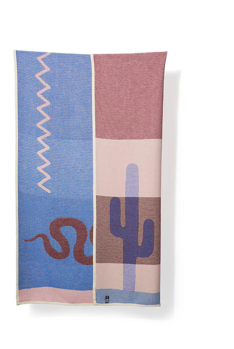 Summer Cotton Throws & Towels - Santa Fe Blankets & Throws By Sophie Probst