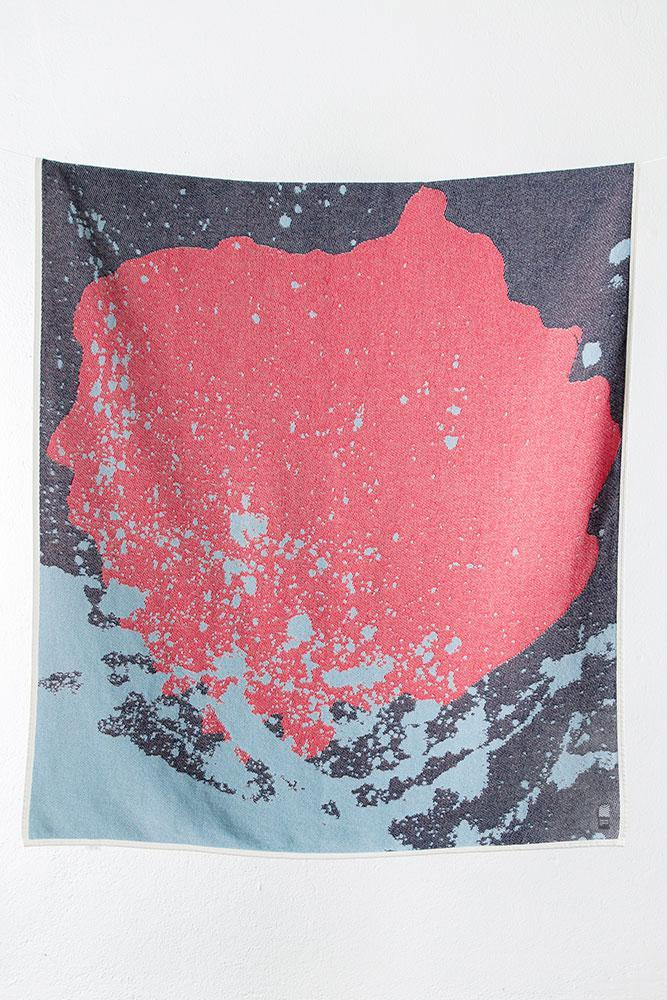 Summer Cotton Throws & Towels - The Splash Cotton Blankets & Throws By Carmen Boog
