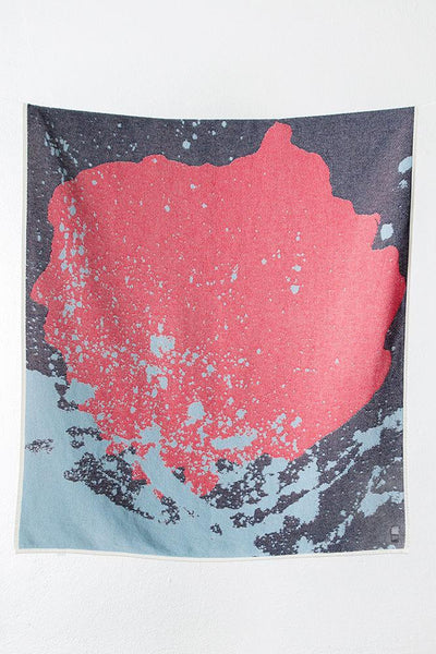 The Splash Cotton Blankets & Throws by Carmen Boog