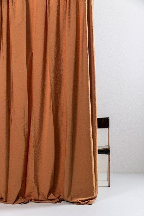 "Vintage Egyptian Cotton Curtains - Amber Egyptian Cotton Curtains 300cm /118""Wide ( Col 26 )"