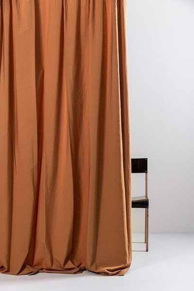 "Amber Egyptian Cotton Curtains 300cm /118""Wide ( col 26 ) - ZigZagZurich  - 1"
