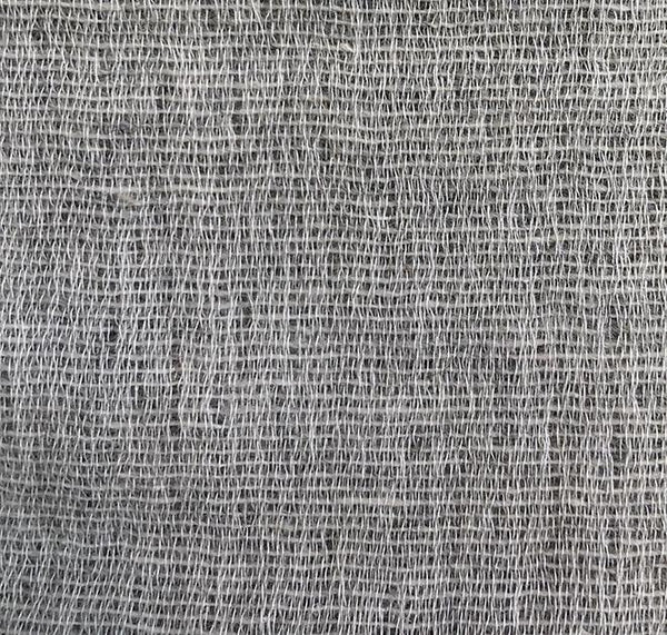 Wool / Cotton Curtains - Mona Wool And Cotton Curtains Grey / Dark Grey - Extra Wide