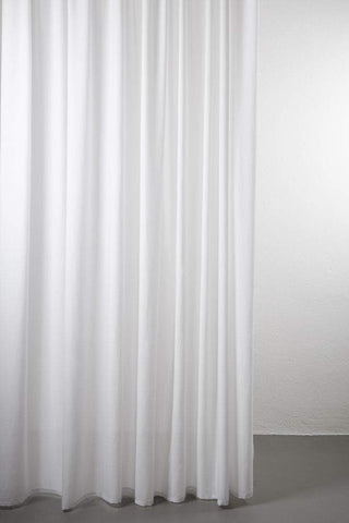"Sydney 100% Pure Wool Curtain 300cm / 118"" Extra Wide - Light Grey 006"