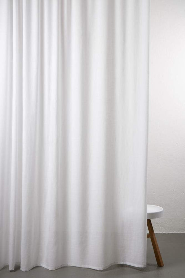"Wool Curtains - Sydney 100% Pure Wool Curtain 300cm / 118"" Extra Wide - Light Grey 006"