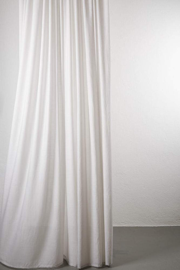 "Wool Curtains - Sydney 100% Pure Wool Curtain 300cm / 118"" Extra Wide - Sand 003"