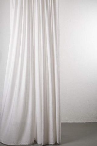 "Sydney 100% Pure Wool Curtain 300cm / 118"" Extra Wide - Sand 003"