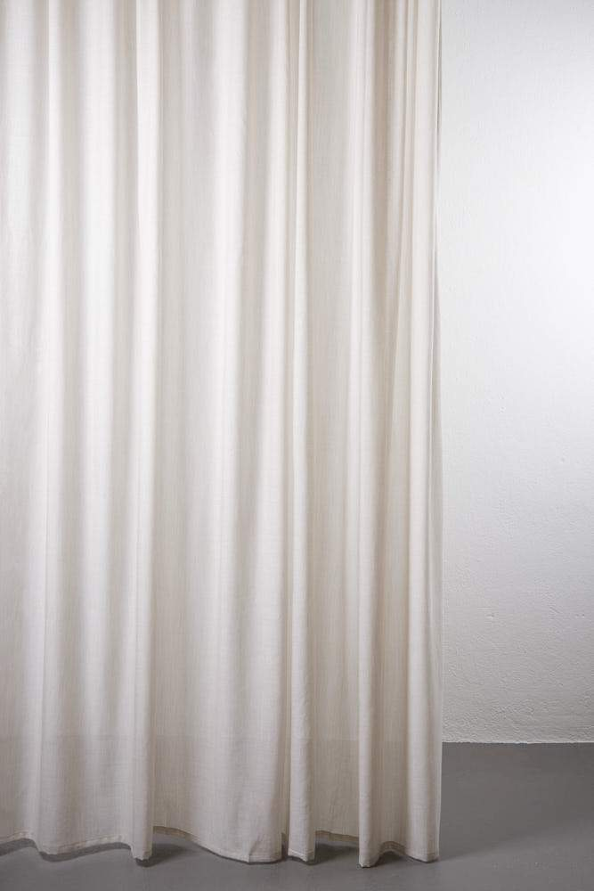 Wool Curtains - Sydney Col. Melange Sand - 100% Pure Wool Curtain - Extra Wide