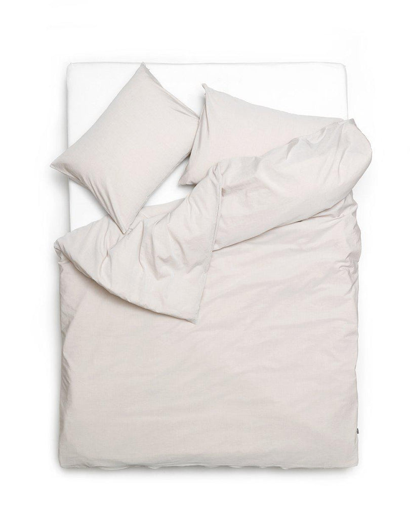 Yarn Dyed Egyptian Cotton Vintage Bedding - Vintage Egyptian Cotton Duvet Covers And Pillows - Desert Sand ( Col 29 )