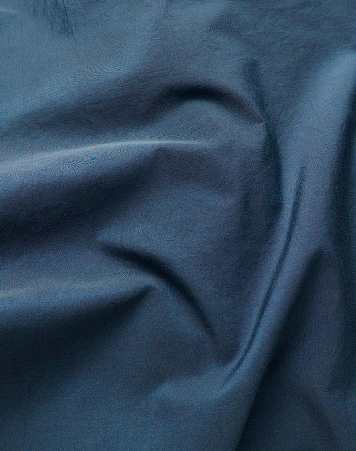 Yarn Dyed Egyptian Cotton Vintage Bedding - Vintage Egyptian Cotton Duvet Covers And Pillows - Indigo ( Col 40 )